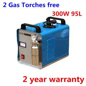 H180 300W Oxygen Hydrogen Flame Generator Acrylic Polishing Machine 95L+2 Torch