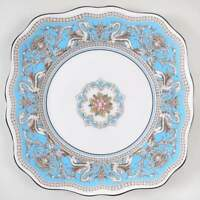 Wedgwood FLORENTINE TURQUOISE Square Salad Plate 785863