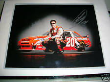 JOEY LOGANO SIGNED 11X14 PHOTO HOME DEPOT 09 ROTY #20