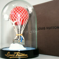 RARE NEW Louis Vuitton LV MALLE AERO Trunk Hot Air Balloon VIP Gift Snow Globe