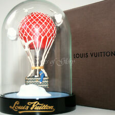 NEW Rare Louis Vuitton LV MALLE AERO Trunk Hot Air Balloon VIP Gift Snow Globe