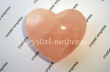 FENG SHUI - ROSE QUARTZ HEART PUFFY CHARM (LOVE & ROMANCE)