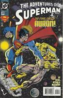Adventures Of Superman Comic 509 Cover A First Print Karl Kesel Ray McCarthy DC