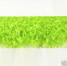 "E2585 LIME GREEN HAIRY GIMP ~ SEWING TRIM FRINGE 2"""