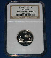 2004-S FLORIDA GEM PROOF WASH. QTR.-NGC GRADED PF-69 UC