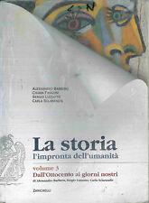ZANICHELLI - LA STORIA - L'IMPRONTA DELL'UMANITA' - VOLUME 3 - #BLOCCO1/7