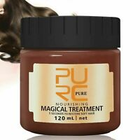 10PCS PURC 120ML Magical Keratin Hair Treatment Mask 5Seconds Repairs DamageHair