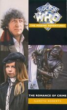 Dr Doctor Who Missing Adventures Book - THE ROMANCE OF CRIME - (Mint New)