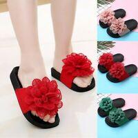 Summer Children Toddler Kids Baby Girls Flower Princess Slippers Sandals Shoes