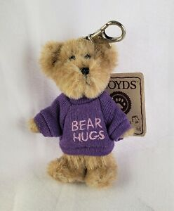 Boyds Bears Thinkin' of Ya Series BEAR HUGS #567105 Mini Message NWT