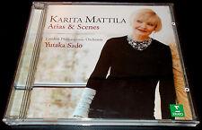 KARITA MATTILA-ARIAS & SCENES-1ST ISSUE CD 2001-YUTAKA SADO-MINT