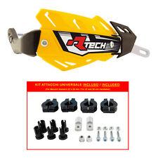PARAMANI RACETECH FLX ALU GIALLI + KIT MONTAGGIO (Handguards + Fitting Kit)
