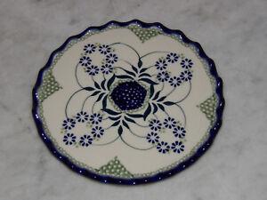 Polish Pottery Trivet! UNIKAT Signature Exclusive Cyndia Pattern!