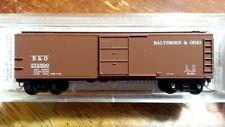 MTL Micro Trains 120210 B&O BALTIMORE & OHIO 40' Boxcar #272500
