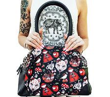 Liquorbrand Little Red Riding Hood Fairytale Rockabilly Alternative Bag Purse