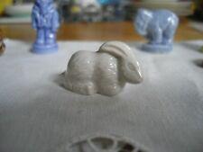 Red Rose Tea Figurines Wade England ~ Pet Shop Species ~ White Rabbit ~