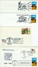 Vermont 1991 SET OF 11 State Fair + Stamp Show + Pictorial Cancels +Bicentennial