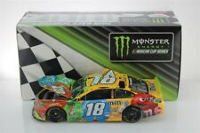 KYLE BUSCH #18 2019 M&M HOMESTEAD RACED WIN 1/24 SCALE NEW FREE SHIPPING