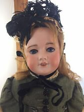 Antique French Doll UNIS FRANCE 301 10 Bisque Head Composition Body 24""