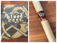 BLOOD RAGE Digital Kickstarter Exclusive Physical Pledge + PLAYMAT! In Hand