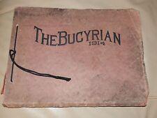 1914 Bucyrian HIGH SCHOOL Bucyrus OH YEARBOOK Annual Crawford County