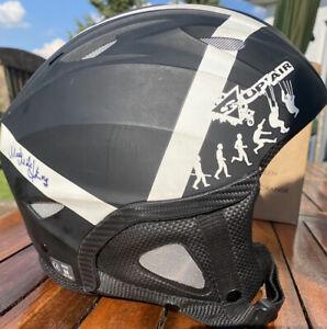 Supair Gleitschirm Helm mit Mike Küng Unterschrift!
