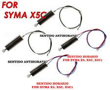 JUEGO DE 4 MOTORES PARA DRONES SYMA X5C