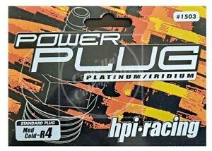 hpi racing Glow Plug Power Standard Medium Med Cold R4 #1503