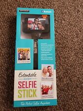 brand new extendable bluetooth selfie stick usb Rechargeable