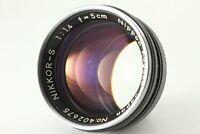 [EXC+++++] Nikon Nikkor-s 50mm 5cm f/1.4 Lens For S S2 S3 SP S4  Mount japan