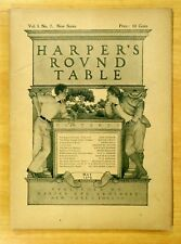 Maxfield Parrish Cover Art Complete HARPER'S ROUND TABLE May 1898 Vol.1.No.7