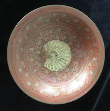 Beautiful Antique/vintage Oriental Cloisonné Brass Bowl