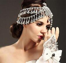 Vintage Wedding Bridal Crystal Headband Queen Crown Tiara Hair Accessories Party