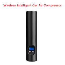Portable Mini Electric Wireless Car Air Pump Compressor 6000mAh For Bike Bicycle