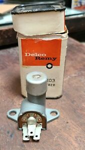 NOS GM Headlight Dimmer Switch 1997028 D-803 Delco Remy Chevy Buick Olds Pontiac