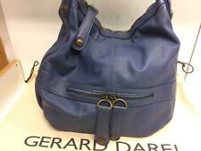 Sac gerard darel st germain Midday Midnight 24h Bleu Flashy Patiné