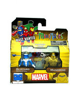 Marvel Minimates Blizzard Donald Gill & Mandroid Most Wanted Series 69 Figures