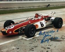 BOBBY UNSER Autographed Signed INDY Photograph - To John