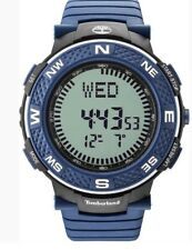 New Men's Timberland Mendon Blue Strap Digital Sports Watch TBL15027XPBBU04P