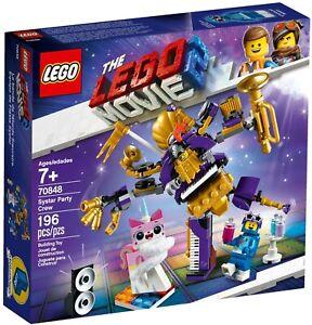 Lego 70848 Lego Movie 2 Systar Party Crew- New (Free Shipping)