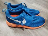 Nike Roshe Run Marble Pack Military Blue/Orange Men's Sz 9.5 (S143)