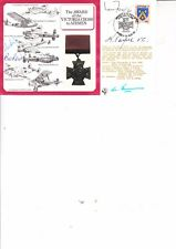 KEITH PAYNE, BILL READ, ROD LEAROYD HAND SIGNED 1984 VICTORIA CROSS COVER