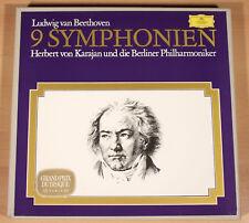 BEETHOVEN - 9 Symphonien / Karajan + Berliner Philharmonie (1968 /8-LP-BOX/ m-)