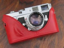 Leather Half Case for Leica M6 M7 MP M2 M3 M4 (Rich Red)