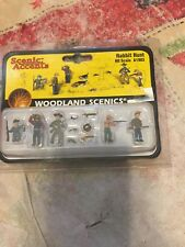 WOODLAND SCENICS HO SCALE RABBIT HUNT A1903