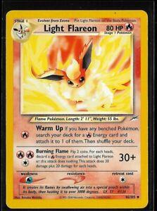 Pokemon Neo Destiny Light Flareon 46/105 Uncommon - LP Condition