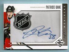 PATRICK KANE 2012/13 LEAF LIMITED MONIKERS NHL LOGO PATCH AUTOGRAPH AUTO 1/1