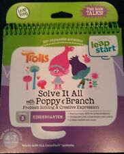 Leap Frog *Trolls Solve It All With Poppy & Branch* Level 3 Kindergarten Ages4-7