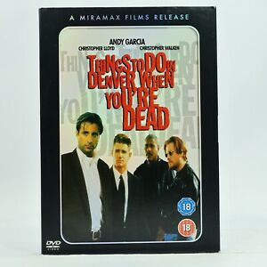 Things To Do In Denver When You're Dead Andy Garcia 1996 DVD Slip Case R2 GC