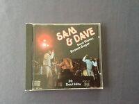 CD SAM & DAVE - SOUL SISTER - BROWN SUGAR - 20 SOUL HITS